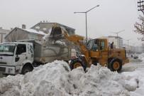 KÖY YOLLARI - Muş'ta Kar Yağışı