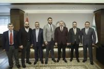 MÜSİAD Yönetimi Başkan Çelik'i Ziyaret Etti