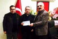 ALİ ÇETİNKAYA - Nazilli'da Esnaf Kooperatifinden İşyeri Yanan Esnafa Destek