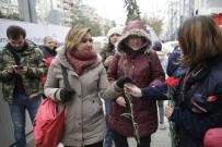 ESKIŞEHIR OSMANGAZI ÜNIVERSITESI - Odunpazarı Belediyesi'nden Karanfilli 'Sevgililer Günü' Kutlaması
