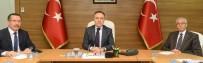 PAMUKKALE ÜNIVERSITESI - Pamukkale Üniversitesinde Güvenlik Toplantısı Yapıldı