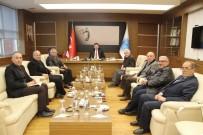 KAYGıSıZ - Rektör Prof. Dr. Mustafa Doğan Karacoşkun'a Hayırlı Olsun Ziyaretleri Sürüyor