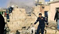 GÖKTEPE - Şanlıurfa'da Yangın Çıkan Evdeki Mutfak Tüpü Patladı