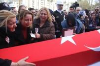 MAHMUT DEMIRTAŞ - Şehit Cenazesine Giderken Şehit Olan Polis Gözyaşlarıyla Uğurlandı