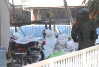BOMBA İMHA UZMANI - Şüpheli Çantayı Uzaklaştırdı Açıklaması Dükkanın Camları Kırılmasın