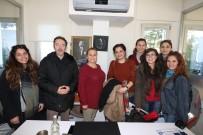 MAVI YOLCULUK - Üniversite Öğrencileri Bodrum Belediyesi'ni Ziyaret Etti
