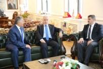 Vali Süleyman Kamçı, Başkan Büyükkılıç'tan Tarihi Mekanların Onarımı Konusunda Bilgi Aldı