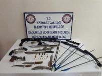 KURUSIKI TABANCA - Yeni Görünümü Verdikleri Silahları Satan 7 Kişi Yakalandı