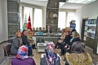 AK Kadınlardan Başkan Gülcüoğlu'na Ziyaret