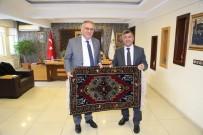 EMRAH ÖZDEMİR - AK Parti Yerel Yönetimler Başkan Yardımcısı, Belediye Başkanı Faruk Akdoğan'ı Ziyaret Etti