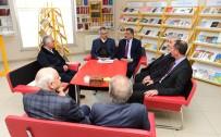 SELAHATTIN GÜRKAN - Başkan Gürkan, BİLSAM'ı Ziyaret Etti
