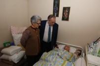 KOAH - Başkan Yılmaz'ın Hasta Ziyaretinde Duygu Dolu Anlar