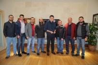 ALI ERDOĞAN - Bodrum Spin Avcıları'ndan Başkan Kocadon'a Teşekkür Plaketi