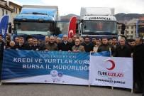 YARDIM MALZEMESİ - Bursa'dan Halep'e Yardımlar Sürüyor