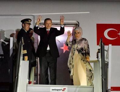 Körfez Ülkelerini Fetheden Başkomutan Erdoğan Yurda Döndü