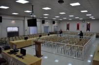 ADALET KOMİSYONU - Darbeci Askerlerin Yargılanacağı Duruşma Salonunda Hazırlıklar Tamamlandı
