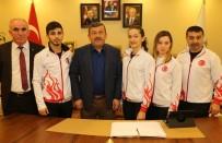 KARATE - Darıcalı Karateciler Avrupa Şampiyonası Yolunda