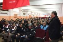 MURAT DURU - Develi'de Taşımalı Eğitimde Servis Şoförleri İle Toplantı Yapıldı
