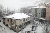 KAMU PERSONELİ - Gümüşhane'de Kar Yağışı