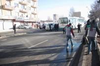 Kayseri'de 11 Araç Birbirine Girdi