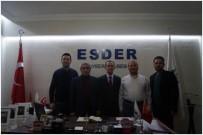 ALI CANDAN - Kayseri Vali Yardımcıları Esder'i Ziyaret Etti