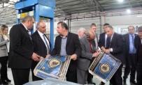 Kıbrıslı Sanayiciler AOSB'yi Gezdi