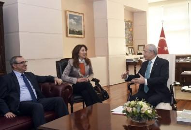 Kılıçdaroğlu, İsrail Büyükelçisi Naeh ile görüştü