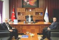 MUSTAFA KAYA - Kırklareli Üniversitesi Rektörü Prof. Dr. Bülent Şengörür'e Hayırlı Olsun Ziyareti