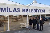 Milas'ın Ören Mahallesi'nde Pazaryeri Yeniden Düzenlendi