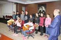 LÜTFÜ SAVAŞ - Mülteci Çocuklar Savaşın Acısını Müzikle Anlatıyor