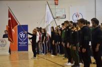 AÇILIŞ TÖRENİ - Okul Sporları Basketbol Gençler Yarı Final Müsabakaları Başladı