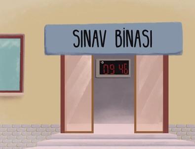 ÖSYM'den YGS adaylarına özel animasyon film