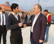 KARAHAYıT - Pamukkale Belediyesi'nden Çerkez Mahallesi'ne Yeni Yollar