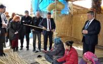 MESLEKİ EĞİTİM - Roman Vatandaşlar İçin Açılan 'Hasır Örme Üretim Atölyesi' Türkiye'ye Rol Model Oldu