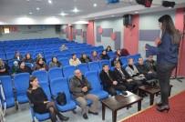 RECEP YAZıCıOĞLU - Söke'de Öğrenci Velilerine Sınav Eğitimi