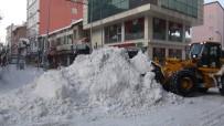 KAR TEMİZLEME - Tatvan'da 3 Bin Kamyon Kar Taşındı