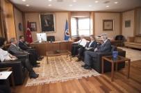 SIVIL HAVACıLıK GENEL MÜDÜRLÜĞÜ - THY'den Rektör Gündoğan'a Ziyaret