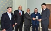 Trabzon'da Ayın Şoförleri Plaketlerini Aldı