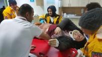 Tramvayın Çaptığı Suriyeli Hastanelik Oldu