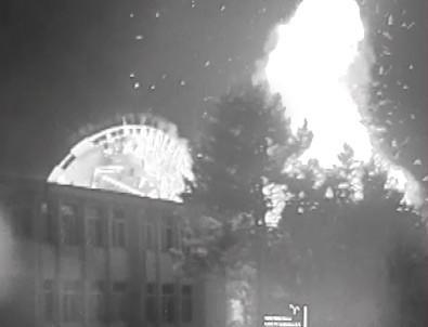 TÜRKSAT'ın bombalanmasının yeni görüntüleri