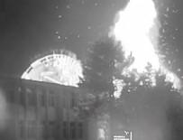 FETÖ TERÖR ÖRGÜTÜ - TÜRKSAT'ın bombalanmasının yeni görüntüleri