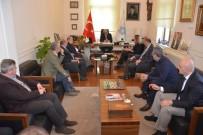 BİSİKLET - TYF'den Başkan Eşkinat'a Ziyaret