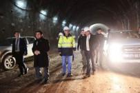 İMAM HATİP LİSESİ - Vali Özefe, Bakü-Tiflis-Kars Demir İpekyolu İle Mozeret Tüneli İnşaatlarını Denetledi