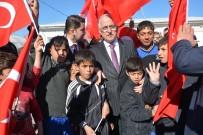 AHMET KARATEPE - Vali Tuna Ceylanpınar'da Suriyelileri Ziyaret Etti
