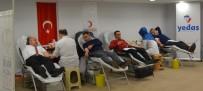 YEDAŞ Çalışanlarından Kızılay'a Kan Bağışı