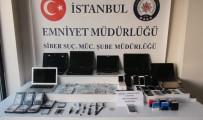 KREDI KARTı - 13 Milyonluk Vurgun Yapan Şebeke Çökertildi Açıklaması 16 Gözaltı
