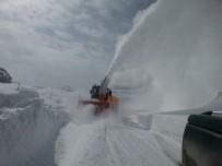 DURANKAYA - 2600 Rakımda Karla Mücadele Çalışması