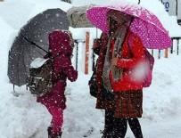 MILLI EĞITIM MÜDÜRLÜĞÜ - 8 ilde eğitime kar engeli