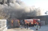 GÖKÇELER - Adana'da Mobilya Fabrikasında Yangın