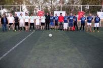 FUTBOL TURNUVASI - Akçakale Belediyesi Halı Saha Futbol Turnuvası Başladı